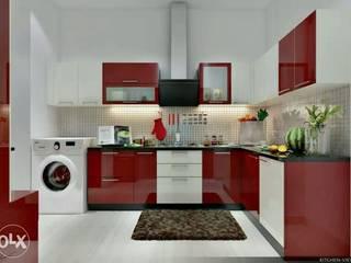 Kitchen and interiors:  Kitchen by Aqua homes