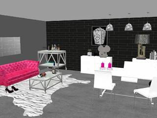 Salón industrial-chic de Diseña tu interior