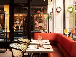 Tables Raku restaurant Astair Gastronomie moderne par Fabienne L'Hostis SASU Moderne