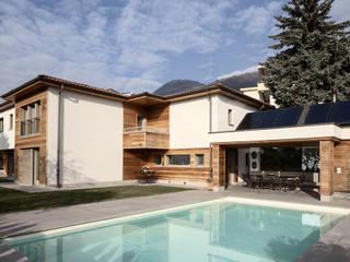 RISTRUTTURAZIONE VILLA IN CANTON TICINO di Studio Architettura Macchi Moderno
