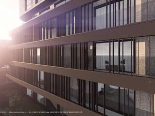 Edifício de habitação Lemoine-Kerautret por OGGOstudioarchitects, unipessoal lda Moderno