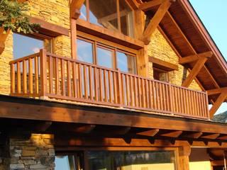 Casa del lago por Manuel Monroy: Casas de estilo rural de Manuel Monroy, arquitecto