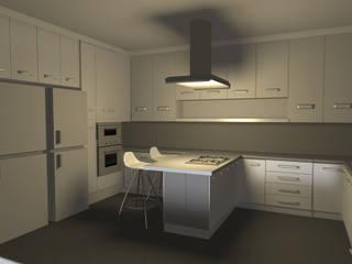 Minimalistika.com Built-in kitchens Chipboard White