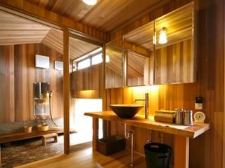 洗面室: 株式会社高野設計工房が手掛けた浴室です。