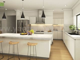 Vintage 3D Exterior & Interior Modeling Ideas by Yantram 3D Architectural Visualisation, New jersey - USA Yantram Architectural Design Studio Modern
