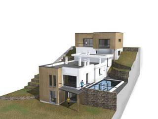 MEDAH ARCHITECTURE ET ECO LOGIS Casas unifamiliares