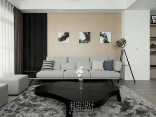 Minimalist living room by 湘頡設計 Minimalist