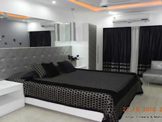 Modern Bedroom Design Ideas:  Bedroom by Chawla N Associates