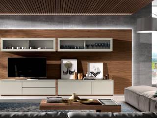 Decordesign Interiores Living roomShelves Wood Brown