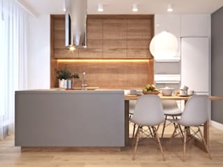 modern Kitchen by Ambience. Interior Design