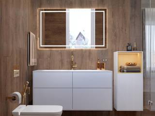 Пристройка к загородному дому (гостевая спальня с туалетом):  в . Автор – AE details