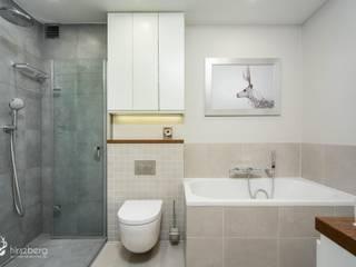 Mieszkanie Katowice: styl , w kategorii  zaprojektowany przez Hirszberg Pracownia Architektoniczna