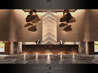 HePe Design interiors – Otel Lobi:  tarz Oteller