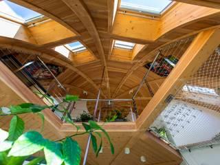 Скай 10,5 в Малиновке Коридор, прихожая и лестница в эклектичном стиле от Скайдом Эклектичный