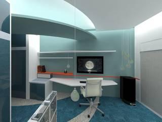 Dormitorio de Andrés: Dormitorios de estilo  por Goch Interior Design