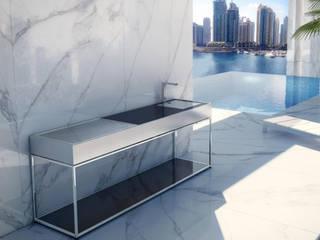 Outdoor Kitchens: modern  by Atria Designs Inc.,Modern