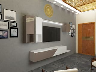 sulod Modern living room by KAS Architecture Modern