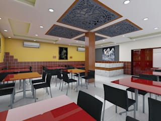 RESTAURANT Modern bars & clubs by KAS Architecture Modern