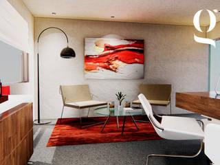 Oficina Ingeniero Héctor Uribe Edificios de oficinas de estilo ecléctico de GR arte & diseño Ecléctico