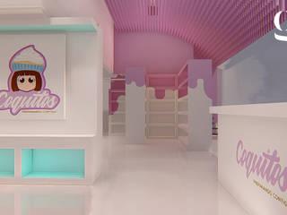 Confitería Coquitos Espacios comerciales de estilo minimalista de GR arte & diseño Minimalista
