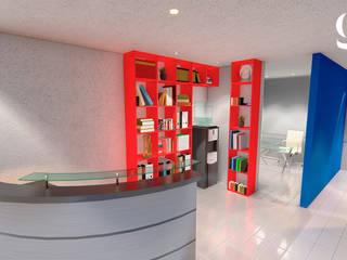 Oficina Alatorre Edificios de oficinas de estilo moderno de GR arte & diseño Moderno