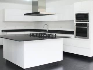 Cocinas de estilo minimalista de Molcajete Arquitectura Interiores Diseño Minimalista