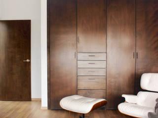Salas multimedia de estilo ecléctico de Molcajete Arquitectura Interiores Diseño Ecléctico
