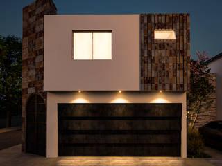 CASA SANCHEZ: Casas de estilo  por ZOAR ARQUITECTURA