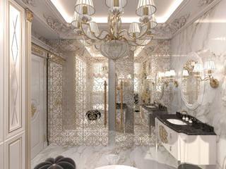 Baños de estilo clásico de Студия дизайна интерьера Руслана и Марии Грин Clásico