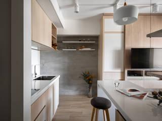 Modern Kitchen by 有偶設計 YOO Design Modern