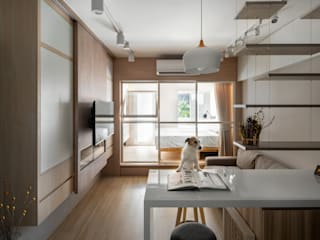 Modern Living Room by 有偶設計 YOO Design Modern