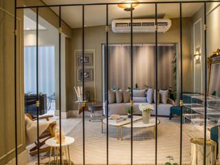 Lounge da Violinista por Sabackemunhoz: Lojas e espaços comerciais  por Geovanna Cristina,Eclético
