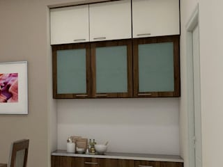 shree lalitha consultants Kitchen units Plywood Brown
