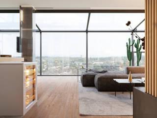 Salas / recibidores de estilo  por Need Design