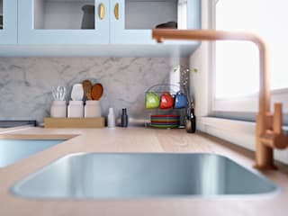 Kitchen by Zero Point Visuals