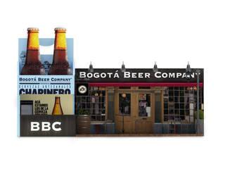 Diseño de stand para Bogota Beer company.:  de estilo  por Pragma-Diseño