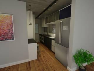 Cozinhas embutidas  por Arq. Bruno Luz