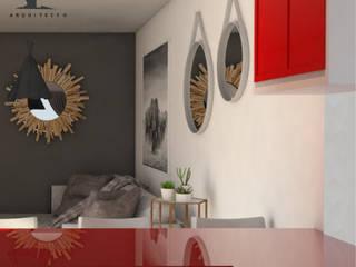 : Cocinas equipadas de estilo  por FARO 105 Arquitectos