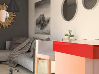 : Salas de estilo moderno por FARO 105 Arquitectos