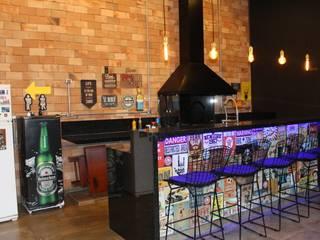 Remodelando um Espaço Gourmet e area de lazer por Karina Christofaro Arquiteta