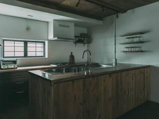 Projekty,  Aneks kuchenny zaprojektowane przez 株式会社シーンデザイン建築設計事務所