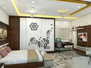 project miryalaguda Asian style bedroom by shree lalitha consultants Asian