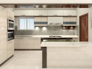 shree lalitha consultants Kitchen units Plywood Beige
