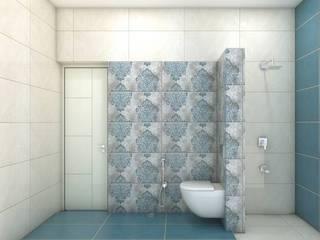 project miryalaguda:  Bathroom by shree lalitha consultants