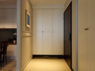 簡約東方vs美式古典 經典風格的走廊,走廊和樓梯 根據 果仁室內裝修設計有限公司 古典風