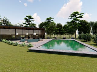Garden Pool by Civco Ltda,