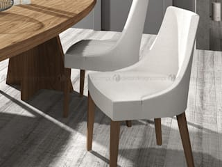 Decordesign Interiores Dining roomChairs & benches White
