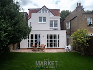 Rear Extension , Loft Conversion and Full House Refurn in Kew The Market Design & Build Casas modernas