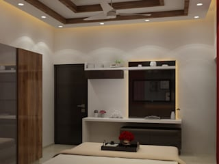 TV cabinet and entertainment center:  Media room by MAG Consultancy