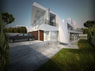 by Office of Feeling Architecture, Lda Сучасний